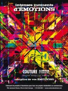 Couture Aluminium Amants de la scène
